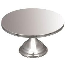Alegacy Stainless Steel Cake Stand, 13 inch - 1 each.