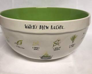 Witch's Brew Large Ceramic Mixing Bowl by Rae Dunn by Magenta