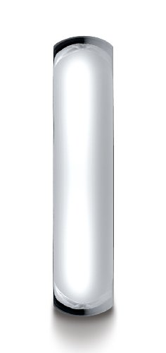 Mens-Platinum-5mm-Slim-Profile-Comfort-Fit-Ring
