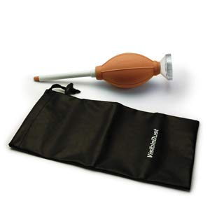 Zeeion FlexoNozzle Sensor Cleaning Anti-Static Bulb Blower for Digital Camera Orange Body