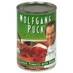 Wolfgang Puck Soup Organic Tomato with Basil 14.5 oz. (Pack of 12)