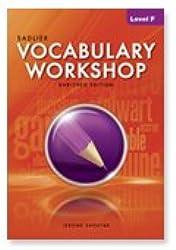Vocabulary Workshop: Level F