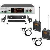 Sennheiser EW 300-2IEM G3 - In-ear Monitoring System - B-Range (626 - 668 MHz)