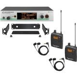 Sennheiser Wireless Monitors (Sennheiser EW 300-2IEM G3 - In-ear Monitoring System - G-Range (566 - 608 MHz))