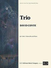 Conte, David - Trio for Violin, Cello and Piano by ECS Publishing