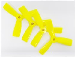 AvatarRC Geniune Dalprop T3045-3 (3×4.5×3) Tri Blade Yellow Propellers for 250 Size Quadcopters, Drones, and Multi-rotors – Perfect for 210mm to 300mm frames