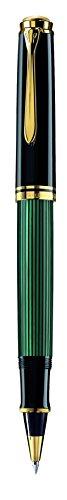 Pelikan Souveran 400 Black/Green GT Rollerball Pen - 997494