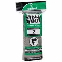Steel Wool Med. Course #2, Sold As 1 Package, 16 Each Per Package