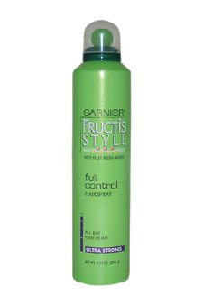Garnier Fructis Style Full Control Hairspray, All Hair Types, 8.25 oz. (Packaging May Vary)