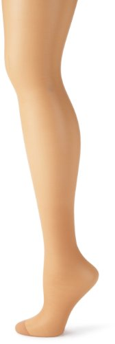 (Hanes Women's Control Top Reinforced Toe Silk Reflections Panty Hose, Little Color, A/B)