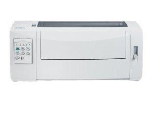 LEXMARK FORMS PRINTER 2580N+. Workgroup – Monochrome – Dot-matrix – Up to 618 cps Fast Draft 12 cpi ; Up to 400 cps Draft 12 cpi ; Up to 100 cps Near Letter Quality 12 cpi – 240 dpi x 144 dpi – USB (Catalog Category: Printers & Print Supplies / Dot-matrix Printer)