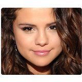 30x25cm 12x10inch gaming mousepad rubber and cloth Mouse Pad heat-resistant Selena Gomez