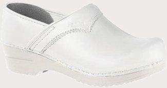 Sanita Clogs San Flex Closed White O1/Fo SRC White Size: 39 EU