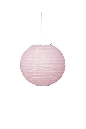Round Light Pink Paper Lantern