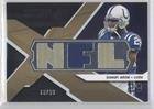 Joseph Addai Nfl Jersey - Joseph Addai #73/99 (Football Card) 2008 SPx Winning Materials Single Jersey NFL Letters #WM-JA
