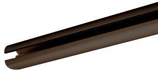 C.R. LAURENCE HYD840RB CRL Oil Rubbed Bronze 84'' Hydroslide Sliding Shower Door Upper Track