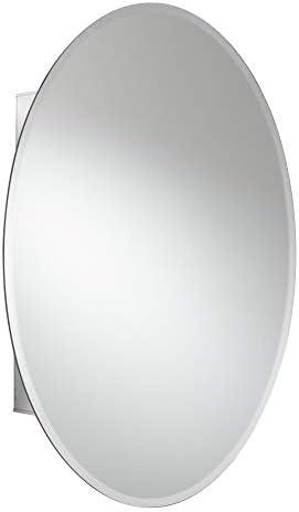 Jacuzzi PD43000 31 H x 21 W x 4-1 2 D Single Door Medicine Cabinet, Silver Aluminum