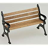 Dollhouse Miniature 1:24 Scale Park Bench by Island Crafts and Miniatures
