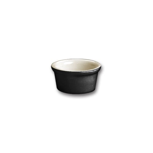Hall China 30362101 Black 2.5 Oz. Ramekin - 36 / - Hall China Ramekins