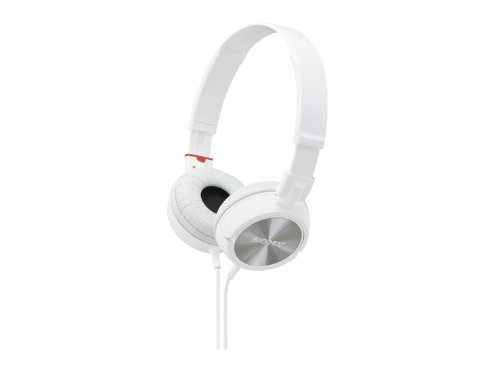 Stereo Headphones MDR ZX300 Holding Overhead