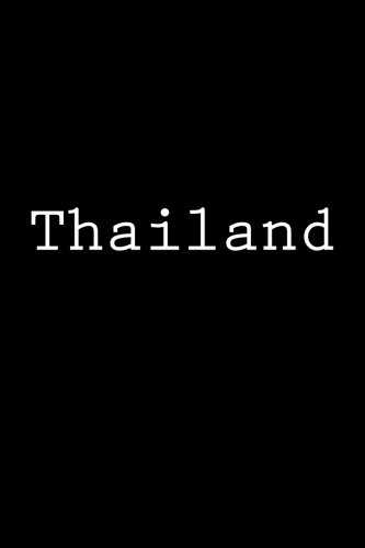 Download Thailand: Notebook, 150 lined pages press, softcover, 6 x 9 pdf
