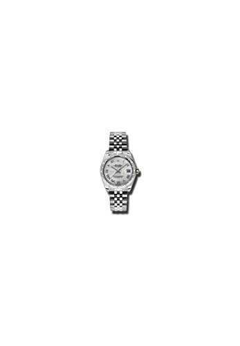 - Rolex Oyster Perpetual Datejust 31 Mother of Pearl Dial Stainless Steel Jubilee Bracelet Automatic Ladies Watch 178344MRJ