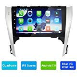 10.1inch Car Stereo 2GB RAM 32GB ROM for Toyota Camry 2012-2013 IPS Touch Screen with Bluetooth,Double Din Radio,GPS Navigation,WiFi,MirrorLink,Backup Camera,AUX,Subwoofer,Dash Cam