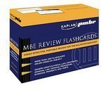 Mbe Review Flash Cards - Kaplan PMBR: MBE Review Flashcards [Cards]
