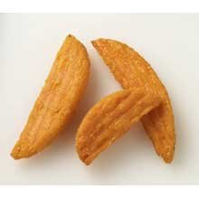 Mccain Harvest Splendor Ridge Wedge Sweet Potato, 2.5 Pound -- 6 per case.