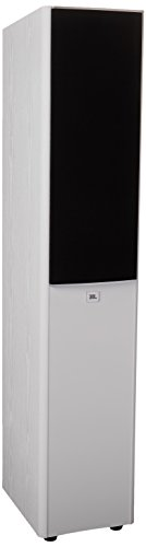 JBL Arena 180 White 2-Way Dual 7-Inch Floor Standing Loudspeaker (White) 2 Way Floor Standing Speaker