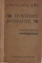 Histoire romaine par  Malet et Isaac