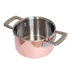 Samuel Groves 1817 8'' Copper Triply Casserole Pan Dia 203mm Made in England by Samuel Groves