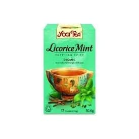 Yogi Tea – Licorice Mint Egyptian Spice – 30.6g