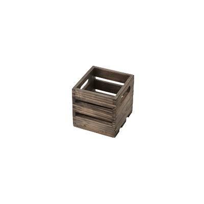 American Metalcraft WTV6 Wooden Crate, Vintage, 6''