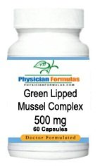 2 Bottles Green Lipped Mussel Complex, 500 mg, 60 Capsules, Marine Lipid, Source of Fatty Acids, Sterol Esters, Polar Lipid & Carotenoids, Formulated by Ray Sahelian, MD