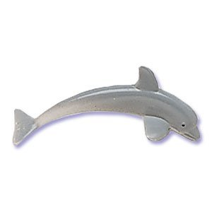 6 Plastic Dolphins Cake Toppers, Health Care Stuffs