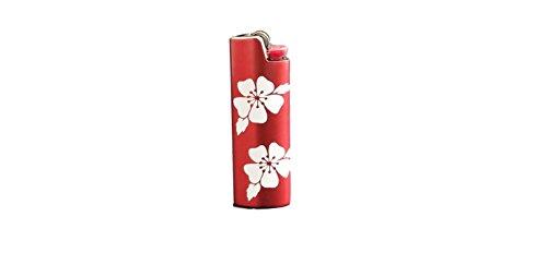 Cherry Blossom BIC Lighter Cover Metal Blank Vinyl Design - CUSTOM MADE by Custom Cuts and Creations LLC