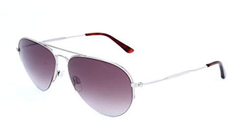 Balenciaga BA125 16T Womens Ruthenium/Havana 58 mm Sunglasses