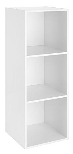 (Whitmor 3 Cube Organizer, White)