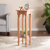 Southern Enterprises Harwich Unfinished Wood Accent Table