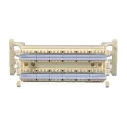 Leviton 41AB6-1F4 eXtreme 6+ 110-Style Wall Mount Wiring Block w/Legs