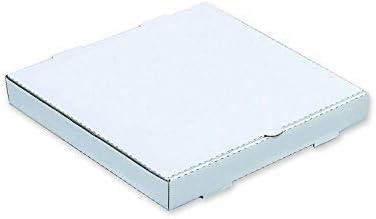 We Can Source It Ltd - Liso Pizza Cajas, Takeaway Pizza Caja, Blanco, Calidad Fuerte, Estraza 12: Amazon.es: Hogar
