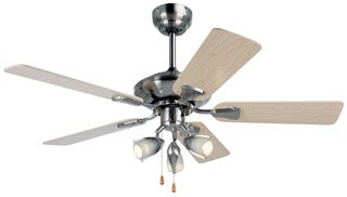 Micromark manhattan 42 ceiling fan with 3 light fitting amazon micromark quotmanhattanquot 42quot ceiling fan mozeypictures Choice Image
