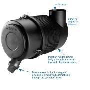 Donaldson G065432 AIR CLEANER, FPG RADIALSEAL