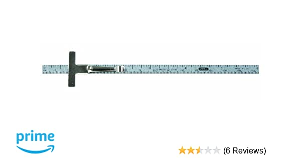 General Tools 300//1 6-Inch Flex Precision Stainless Steel Rule