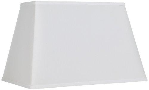 White Rectangular Shade 14/6x18/12x12 (Spider)