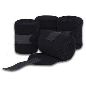 Dover Saddlery Polo Wraps - Black by Dover Saddlery