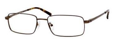 Eyeglasses 0rx1 Satin - CLAIBORNE Eyeglasses INDUSTRIALIST 0RX1 Black Satin 55MM