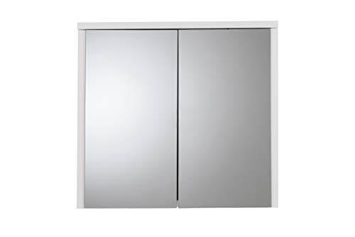 Croydex Double Door Swivel Bi-View MDF Cabinet, -