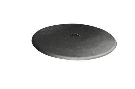 Hearth Products Controls (HPC) Round Aluminum Fire Pit Cover (FPHC-48BL), 48-Inch, Black